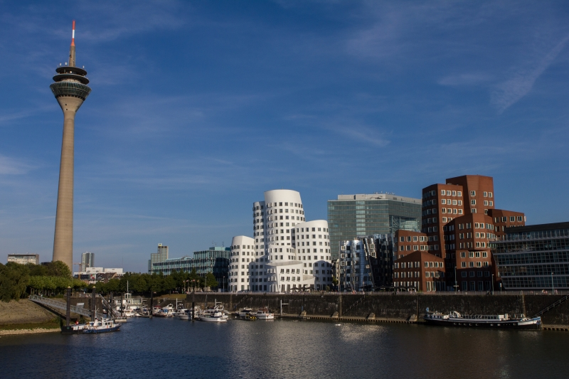 Skyline Düsseldorfer Hafen